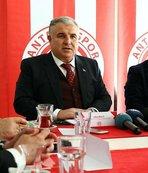 Antalya başkanı, Eto'o gerçeğini açıkladı