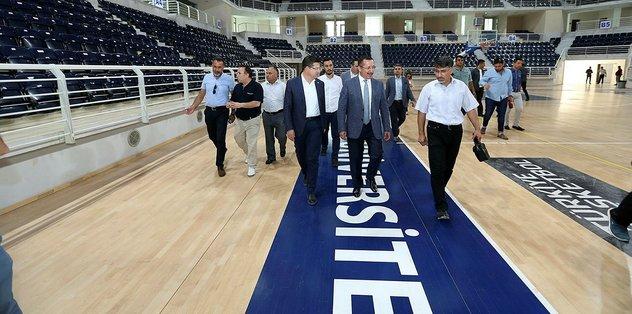 Denizli Basketboluna NBA standartlarında salon