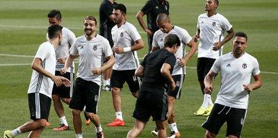 Beşiktaş sezonun son idmanını yaptı