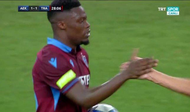 İşte Trabzonspor'un ilk golü