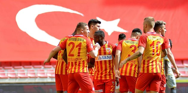 Kayserispor 2-1 Yeni Malatyaspor   MAÇ SONUCU