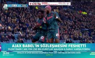 Ajax Babel'in sözleşmesini feshetti