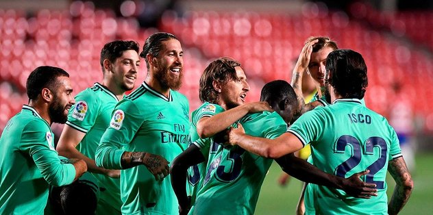 Granada 1-2 Real Madrid | MAÇ SONUCU - Futbol -
