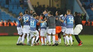Trabzonspor 61 hafta sonra lider oldu
