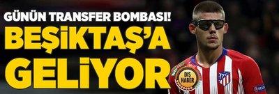 Beşiktaş bombayı patlatıyor! Atletico Madrid'in genç yeteneği...