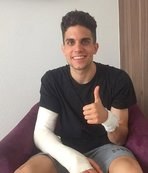 Patlamada yaralanan Marc Bartra'dan mesaj var