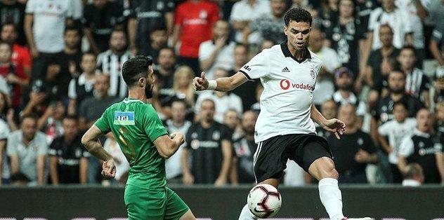 """Pepe: """"Lige sağ ayakla başladık"""""""