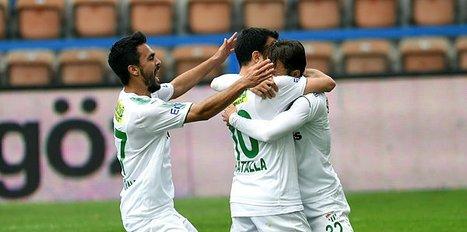 Batalla atıyor Bursaspor kazanıyor