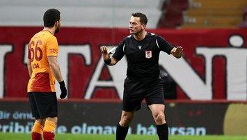 Galatasaray - Çaykur Rizespor maçına damga vuran hakem bakın hangi takımlı