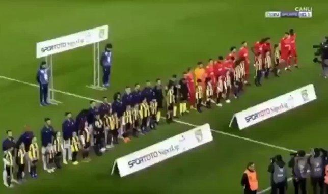 Fenerbahçe - Sivasspor maçında şehitler anıldı