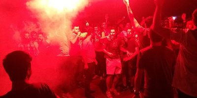 Florya'da Sneijder protestosu