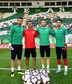 Bursaspor'da altyapıdan gelen gençler formayı kaptı