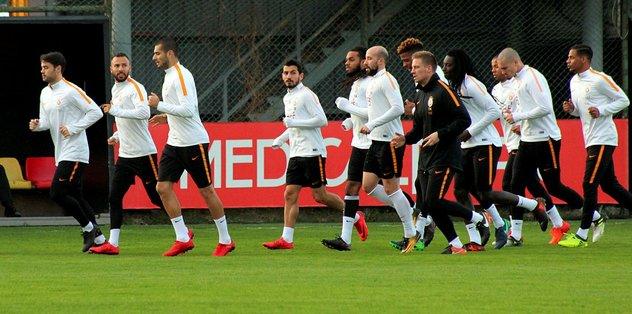 Galatasaray'da Başakşehir maçı hazırlıkları