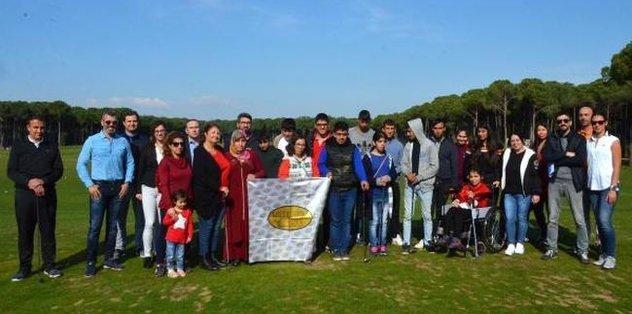 Özel çocuklar golfle tanıştı