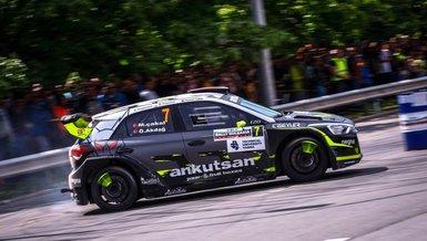 Avrupa Ralli Kupası'nın üçüncü ayağında Mustafa Çakal-Özgür Akdağ ekibi birinci oldu