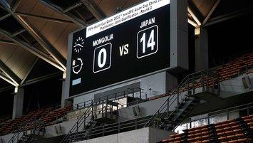Japonya 14 golle kazandı