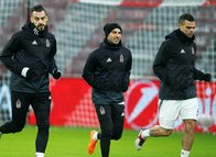 Beşiktaş Aillanz Arena'da çalıştı