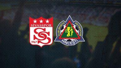Sivasspor Petrocub maçı ne zaman, saat kaçta ve hangi kanalda CANLI yayınlanacak?