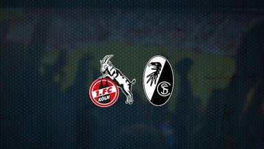 Köln - Freiburg maçı ne zaman, saat kaçta ve hangi kanalda canlı yayınlanacak?   Almanya Bundesliga
