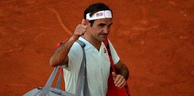 Federer'den Madrid Açık'a veda