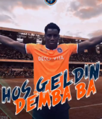 Demba Ba bu video ile duyuruldu!