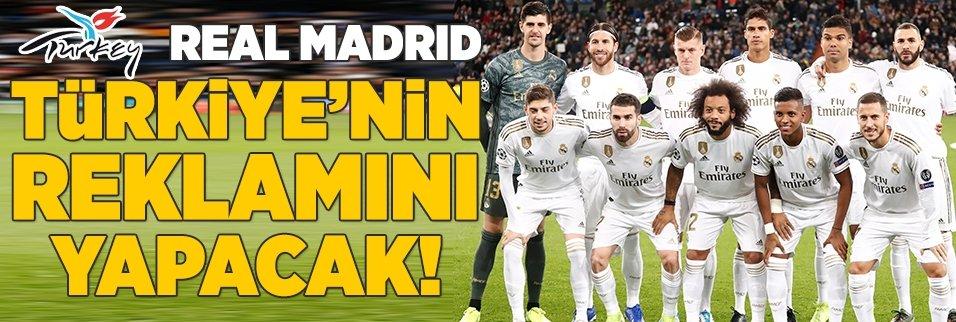 Real Madrid Türkiye'nin reklamını yapacak!