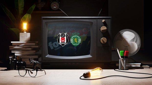 Beşiktaş - Sporting Lizbon maçı CANLI ŞİFRESİZ hangi kanaldan izlenir? Beşiktaş maçını şifresiz yayınlayan kanal var mı? CBC Sport nasıl izlenir?