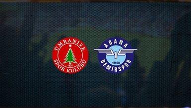 Ümraniyespor - Adana Demirspor maçı ne zaman, saat kaçta ve hangi kanalda canlı yayınlanacak? | TFF 1. Lig
