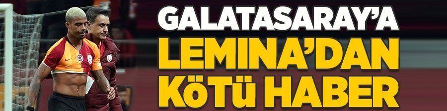 Mario Lemina'dan Galatasaray'a kötü haber
