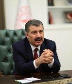 Sağlık Bakanı Fahrettin Koca güncel rakamları açıkladı!