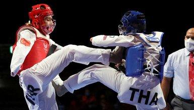 Milli sporcu Meryem Çavdar finale yükseldi ve madalyayı garantiledi