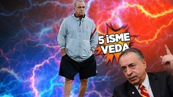 Son dakika Galatasaray haberi: Toplantıdan karar çıktı! Fatih Terim 5 ismin biletini kesti