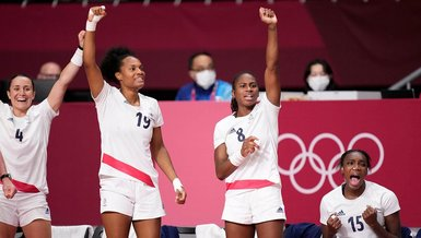 2020 Tokyo Olimpiyat Oyunları'nda kadınlar hentbolda şampiyon Fransa
