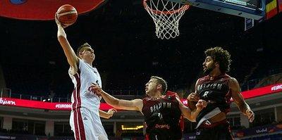 Letonya farklı kazandı