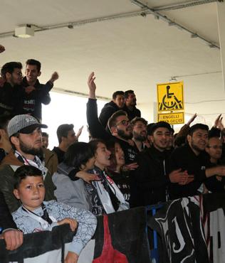 Beşiktaş Konya'da coşkuyla karşılandı