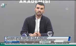 Kenan Sofuoğlu: Ülkede spor yeni bir yola girecek