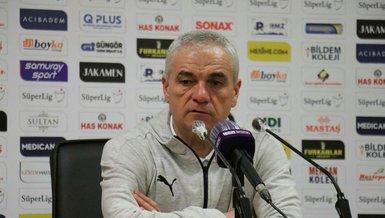 Sivasspor Teknik Direktörü Rıza Çalımbay: Deplasmanda alınan puan iyidir