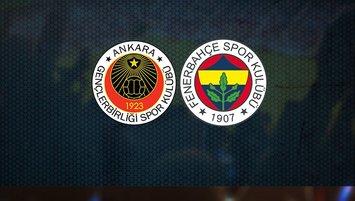 Gençlerbirliği-Fenerbahçe   CANLI