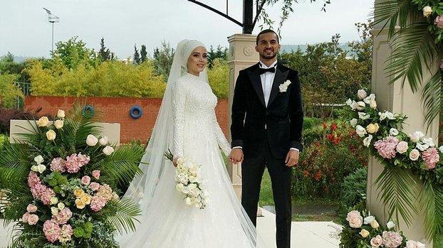 Son dakika spor haberleri: Trabzonspor'da Hüseyin Türkmen evlendi