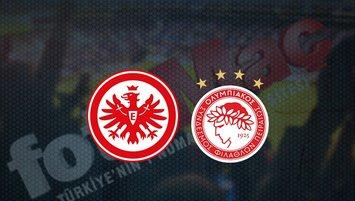 Eintracht Frankfurt - Olympiakos maçı saat kaçta? Hangi kanalda?