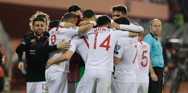 Turkey blanks Albania 2-0 in EURO 2020 Qualifiers