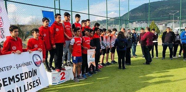 Kahramanmaraş'ta oryantiring yarışları tamamlandı