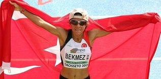 Bekmez'den 5 Türkiye rekoru