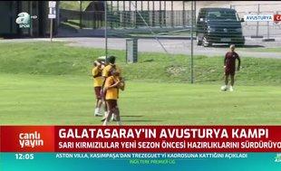 Galatasaray'da tempo yükseldi