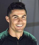 Ronaldo'dan anlamlı hareket