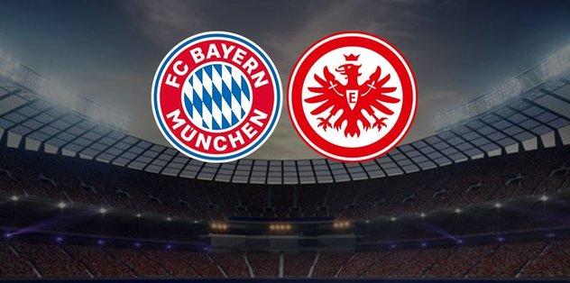 Bayern Münih Eintracht Frankfurt maçı ne zaman, saat kaçta ve hangi kanalda canlı yayınlanacak?