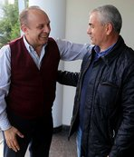Rıza Çalımbay'dan Rizespor'a ziyaret