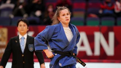 Son dakika spor haberi: Milli judocu Gülkader Şentürk Tokyo biletini kaptı!