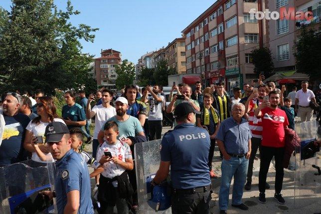 Boluspor-Fenerbahçe maçından kareler