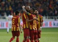 Yeni Malatyaspor - Antalyaspor maçından kareler!